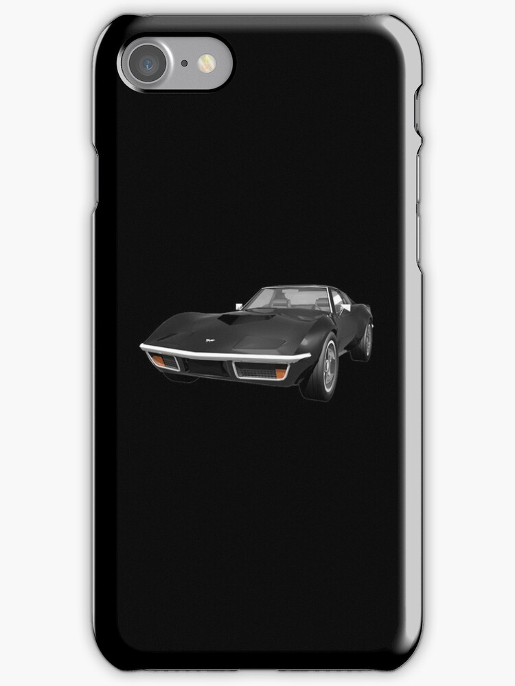 Black 1970 Corvette by bradyarnold