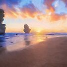 12 Apostles with Marshmallow Skies  (OG) by Ray Warren