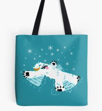 Wampa snow angel  Tote Bag