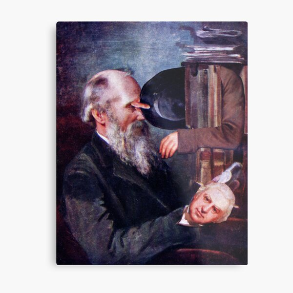 The Old Intellect. Metal Print