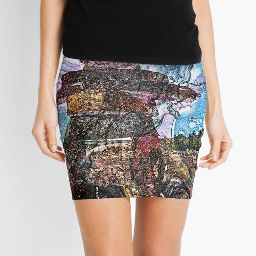 The Atlas of Dreams - Color Plate 161 Mini Skirt