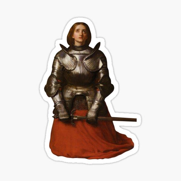 "Millais's ""Joan of Arc"" Sticker"