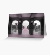 PA Breast Cancer Awareness Greeting Card