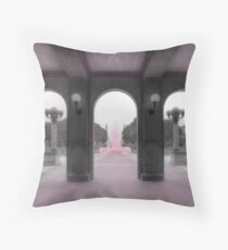 PA Breast Cancer Awareness Throw Pillow