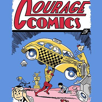 Courage Comics by Haragos