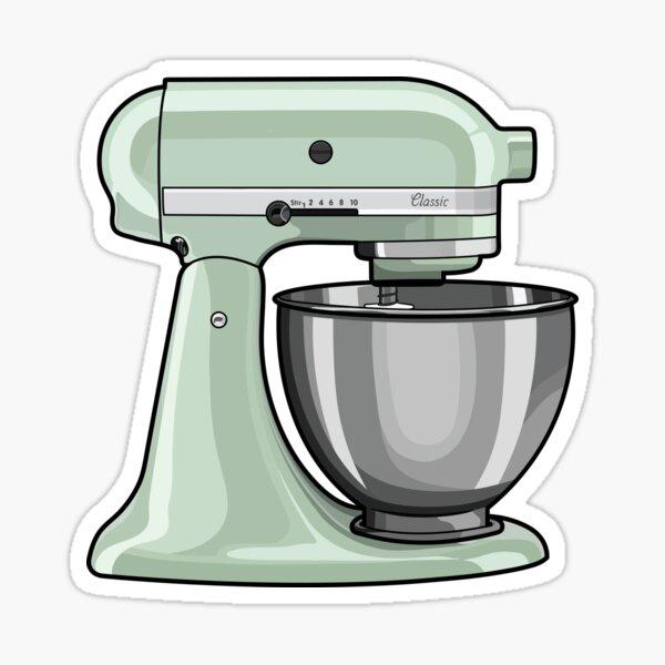 Kitchen Mixer Sticker