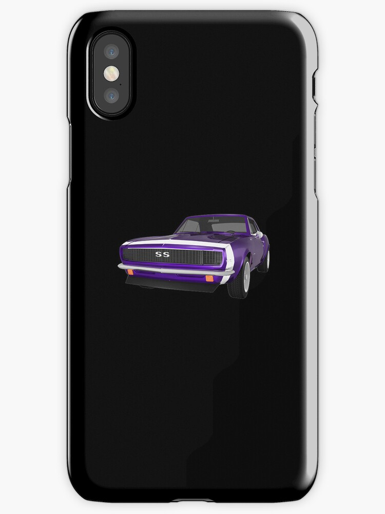 Purple 1967 Camaro SS by bradyarnold