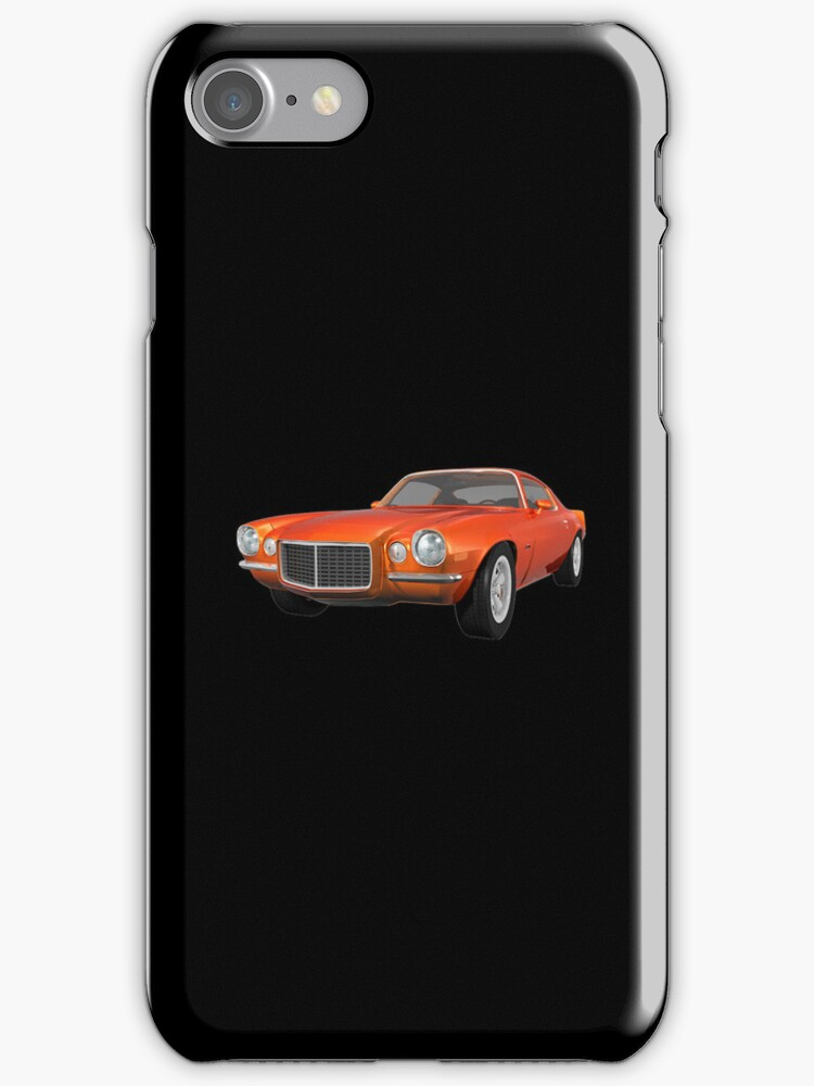 Orange 1972 Camaro  by bradyarnold