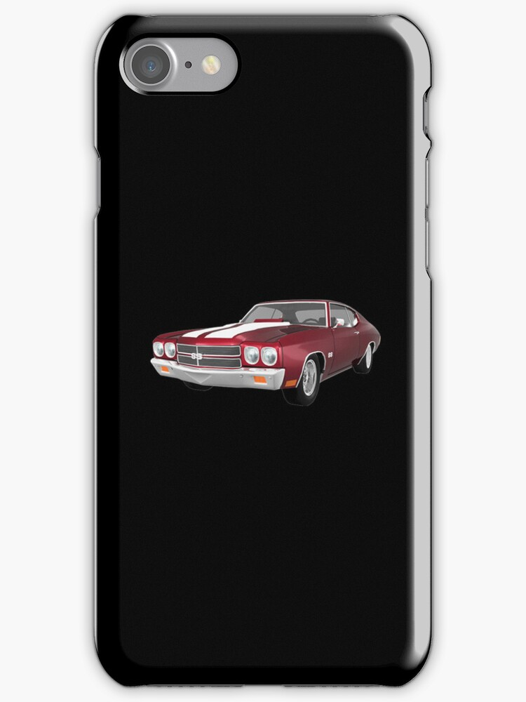 Candy Apple 1970 Chevelle SS by bradyarnold