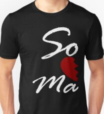 Soul Mate - Right Black Unisex T-Shirt