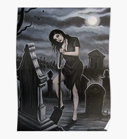 Ghoulish Devotion Poster