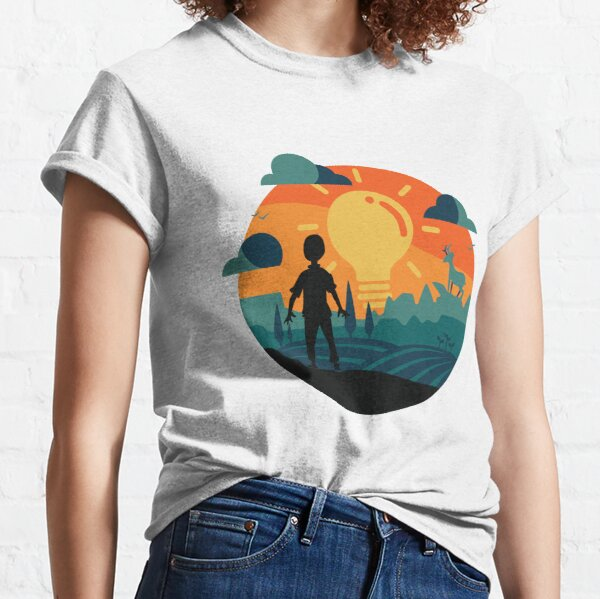 Open Space Logo Graphic Classic T-Shirt