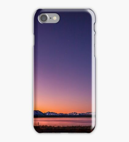 Lake Tekapo Sunset Stars iPhone Case/Skin