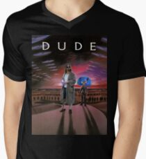 DUDE/DUNE Men's V-Neck T-Shirt
