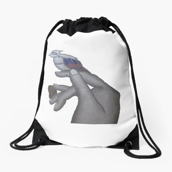 Bird is the word Drawstring Bag