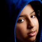 GIRL WITH THE BLUE HOODIE. by googoo