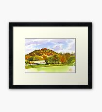 Pilot Knob Mountain Framed Print