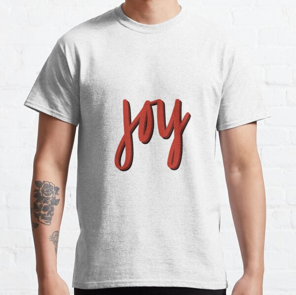 All the JOY (Red) Classic T-Shirt