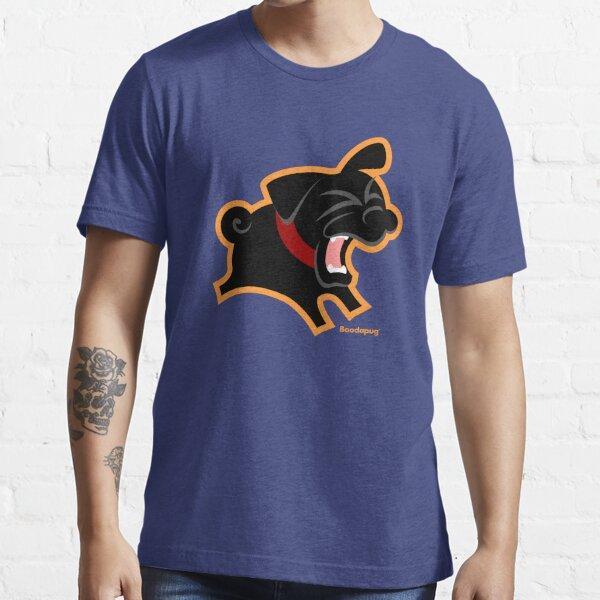 Black Pug (Un)Bark! Essential T-Shirt