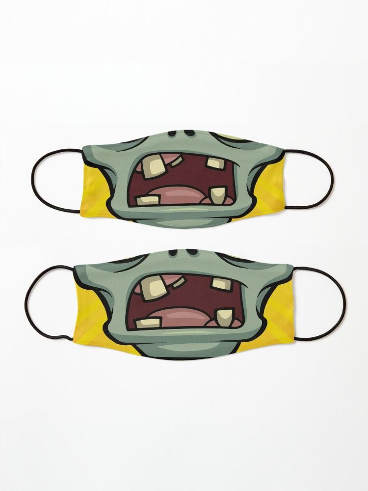 Alternate view of PVZ Zombie Mask