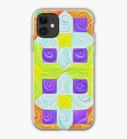 #DeepDream Color Squares Visual Areas 5x5K v1448291932 iPhone Case