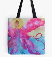 Breast Cancer Angel Tote Bag