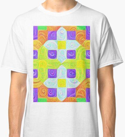 #DeepDream Color Squares Visual Areas 5x5K v1448291932 Classic T-Shirt
