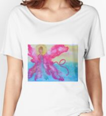 Breast Cancer Angel Women's Relaxed Fit T-Shirt