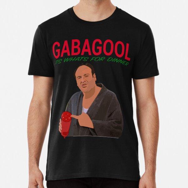 Gabagool - It's What's For Dinner - Tony Soprano Premium T-Shirt