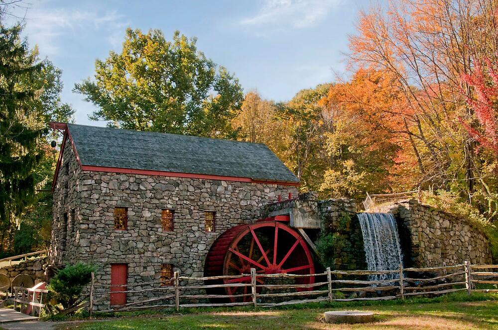 Longfellow's Wayside Inn Grist Mill by TeresaB