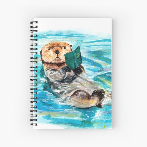 Otter Spiral Notebook