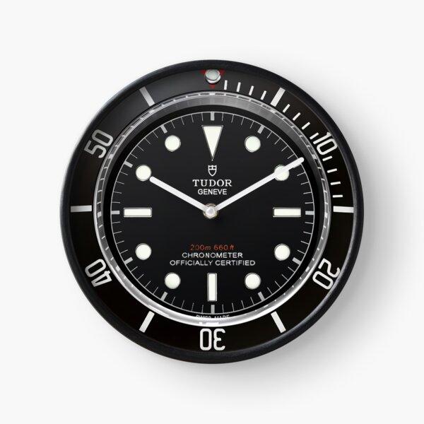 Tudor Black Heritage Clock