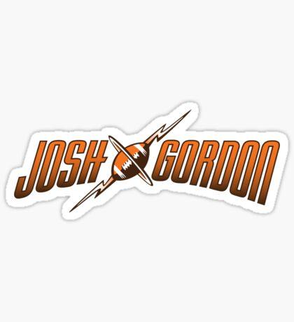 Josh Gordon - Logo Sticker