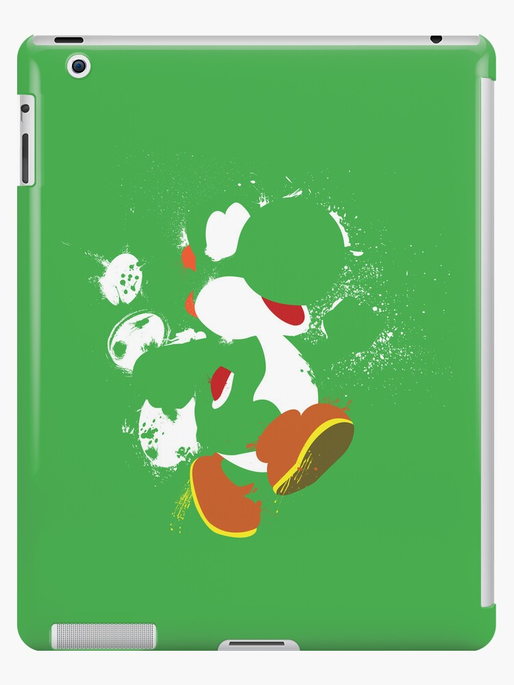 Green Yoshi Splatter Design by thedailyrobot