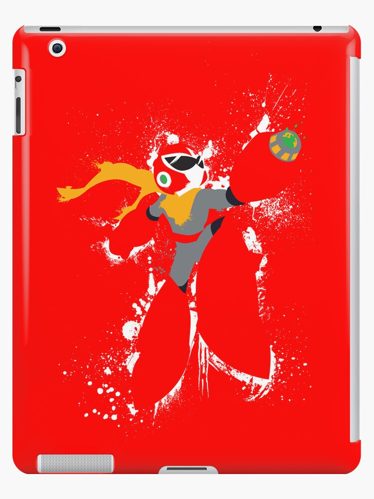 Protoman Paint Explosion by thedailyrobot