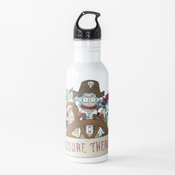 Rick and Morty: Pirate exposure therapy Water Bottle