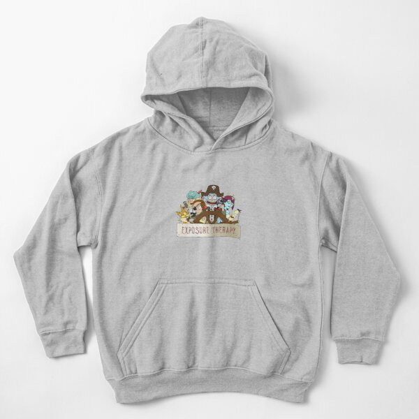 Rick and Morty: Pirate exposure therapy Kids Pullover Hoodie