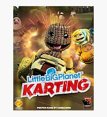 LittleBigPlanet Karting Burn Rubber Photographic Print