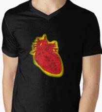 My Robot Heart Mens V-Neck T-Shirt