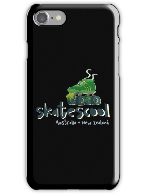 Skatescool Iphone Case Black and Colour by Skatescool