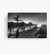 Impressions of Bewdley - The Runner Canvas Print