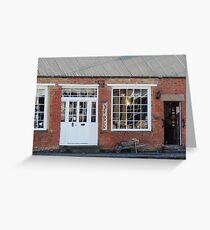 Woodcraft Shop, Richmond Greeting Card