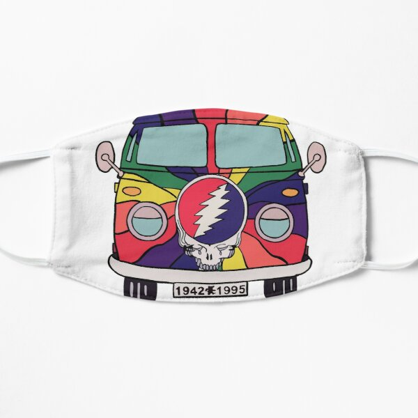 Dead Steal Your Face Colorful Van Mask
