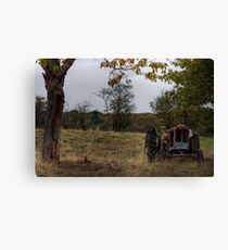 Impressions of Bewdley - Done Ploughing Canvas Print