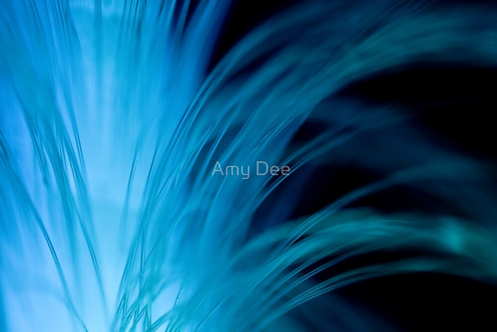Blue Fountain by Amy Dee