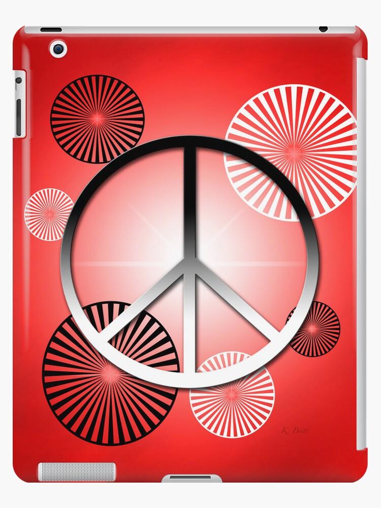 Peace iPad by KBritt