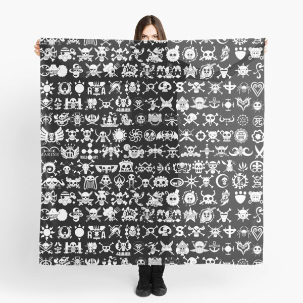 One Piece Jolly Roger 2 Scarf