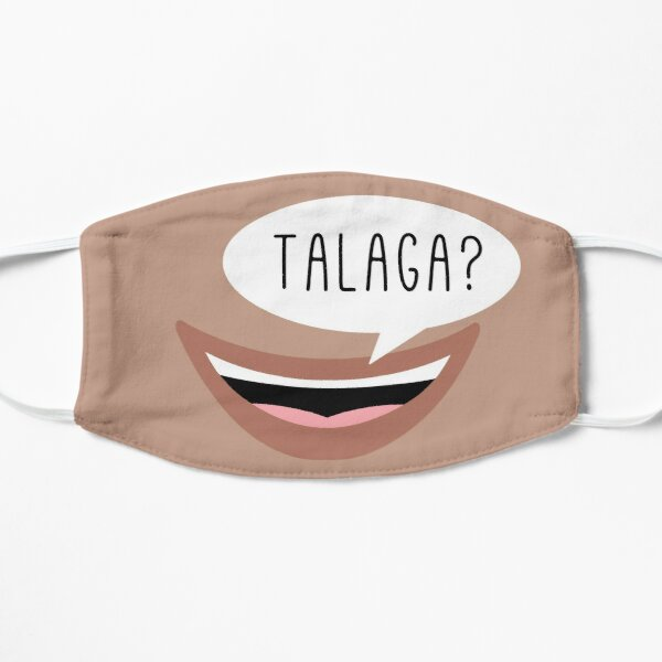 "Talaga?: ""Really?"" in Filipino Mask"