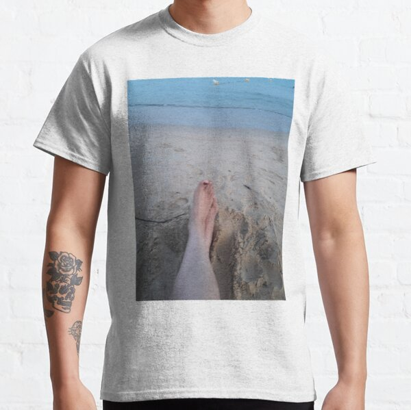 feet in the sand Classic T-Shirt