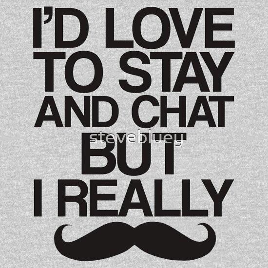 TShirtGifter presents: I Really Mustache   | Unisex T-Shirt